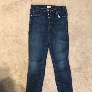 MOTHER High Waisted Stunner Jeans